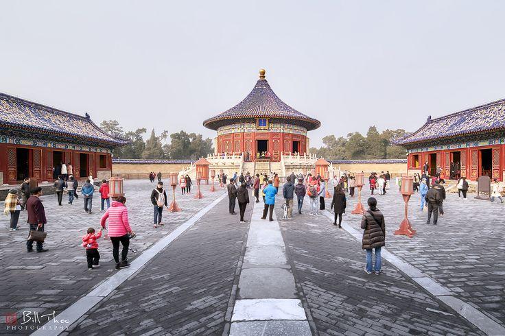 https://flic.kr/p/T26rVD | Temple of Heaven | Temple of Heaven, Beijing, China, November 2016,