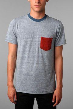 BDG Tri-Blend Blocked Pocket Tee on shopstyle.com