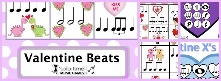 Valentine Music Tic Tac Toe games from solo time games.