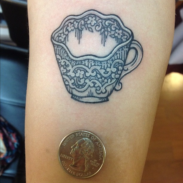 218 best Tattoos - Teacups images on Pinterest | Teapot tattoo ...