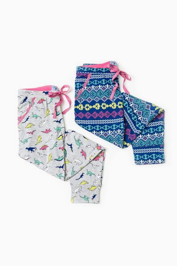 Set due pantaloni pigiama fantasia | OVS