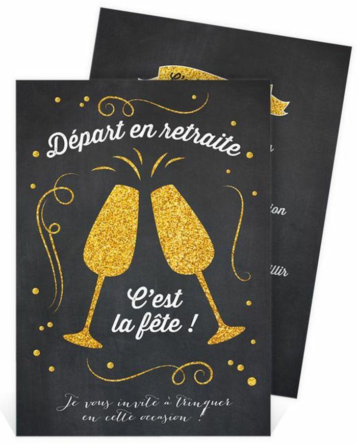 1001 Idees Pour Une Carte De Retraite Des Exemples De Messages Pour Un Collegue Carte Retraite Carte Invitation Invitation Retraite