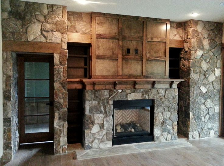 45 best bbm our projects fireplaces images on pinterest for New construction fireplace