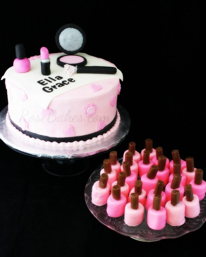 Nail Cake: Best 25+ Makeup Cakes Ideas On Pinterest