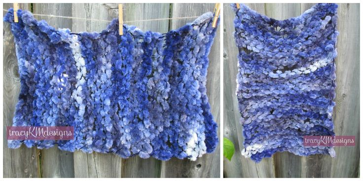 Designed for a newborn photo prop, this velvety soft blue mini blanket is easy to shape and squish around baby.