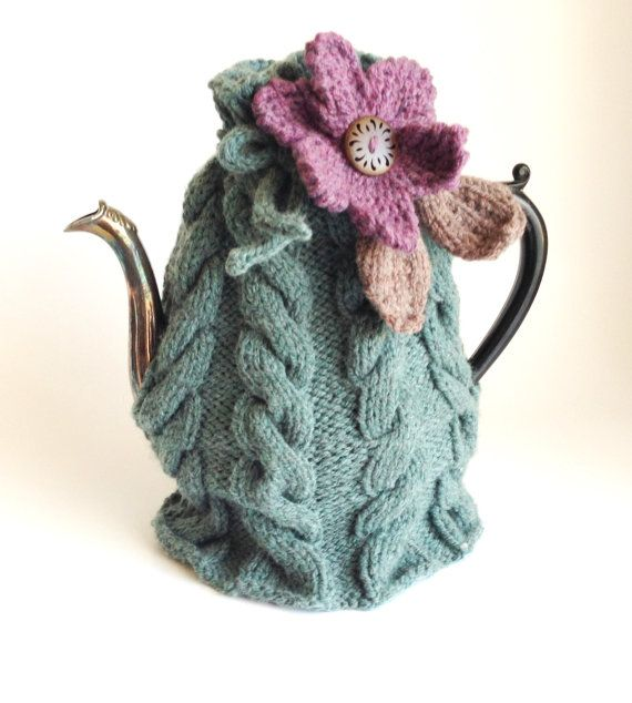 20% OFF with coupon STBTSALE. Teapot cozy Green by LaVieBoeretroos