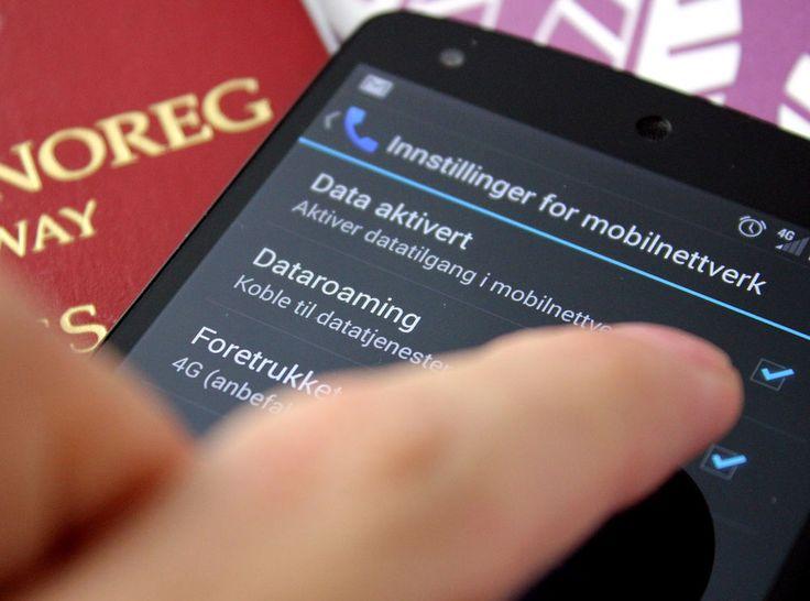 Hvordan slå av dato-roaming