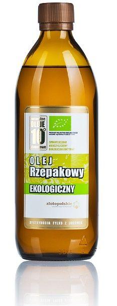Olej rzepakowy EKO. Sprawdź szczegóły na: http://sklep.zlotopolskie.pl/oleje-zimnota-oczone/olej-rzepakowy-eko.html