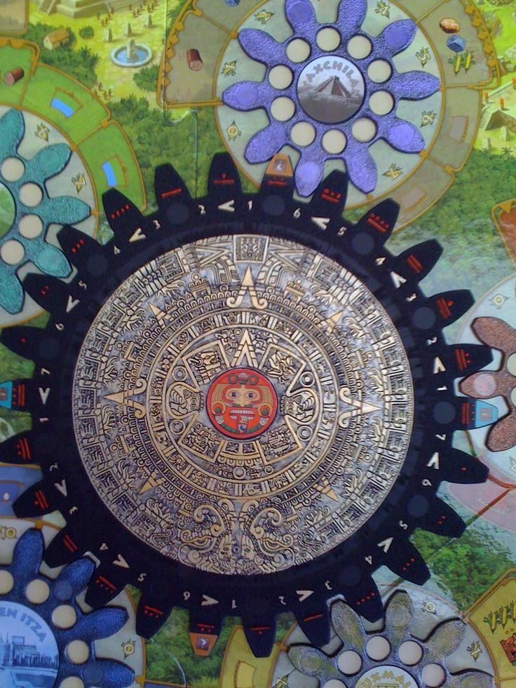 Tzolk'in: The Mayan Calendar - painted