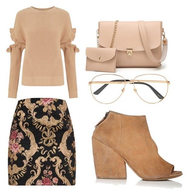 """""""chics"""" by mchlap on Polyvore featuring Miss Selfridge, Marsèll and Gucci"""