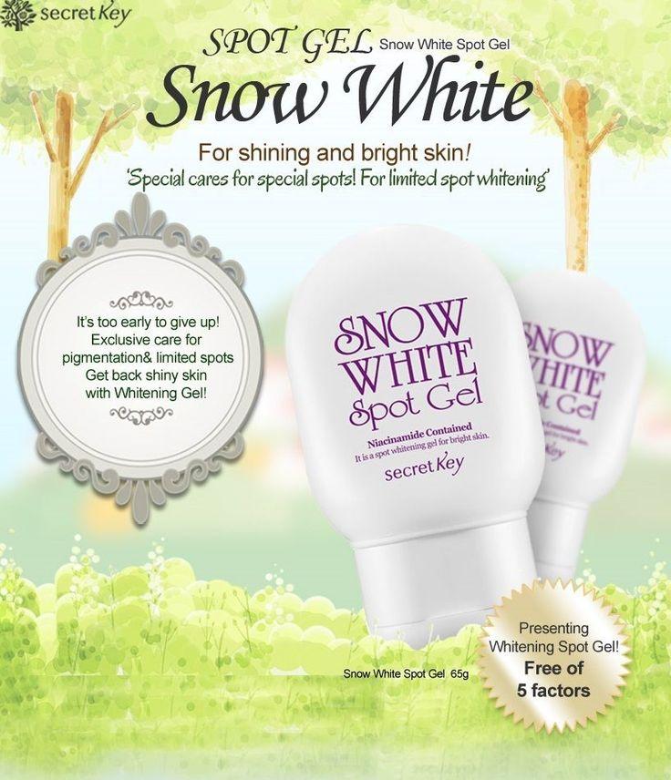 Secretkey Snow White Spot Gel 65g Armpit Bikini Whitening #Secretkey