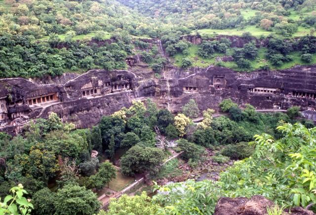 阿旃陀石窟群Ajanta Caves