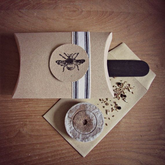 Brilliant idea for an eco friendly wedding favour