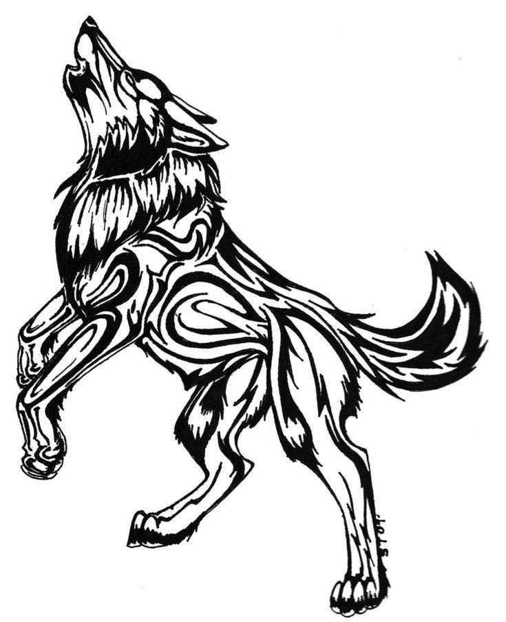 Wolf Tattoo Designs | MadSCAR