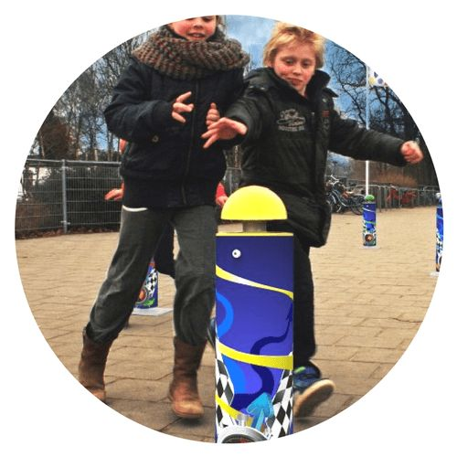 Interactive playground installation RunTime Play and exercise for all ages