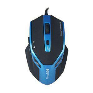 Chianrliu Bouton De 6D De Blue-Ray Usb 1600dpi Optique Filaire Souris Gaming Souris Pour Gamer Cs/FC, Optical Mouse