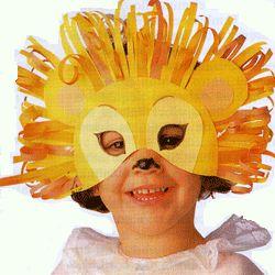 mascaras caseras de león