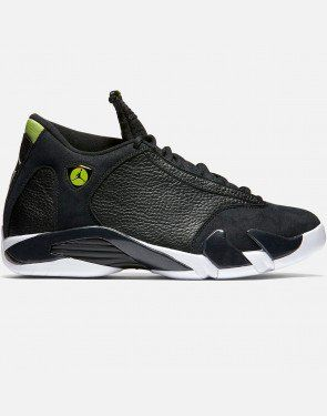 2225dce11c34 ... shop jordan air jordan 14 retro black vivid green black vivid green .  af202 cac2e