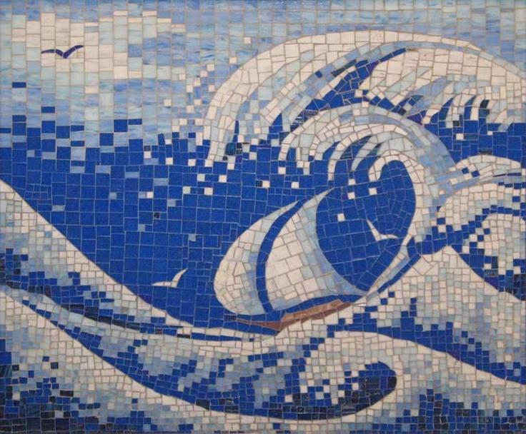 Mosaic - The Big Wave - by Viacheslav Miroshnikov