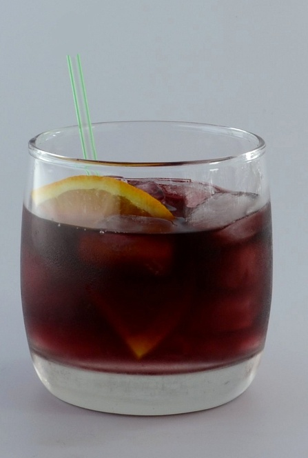 ROUGE - If you like Dubonnet vermouth, you will love Rouge.  #bartenders #mixology #cocktails #drinks #recipes