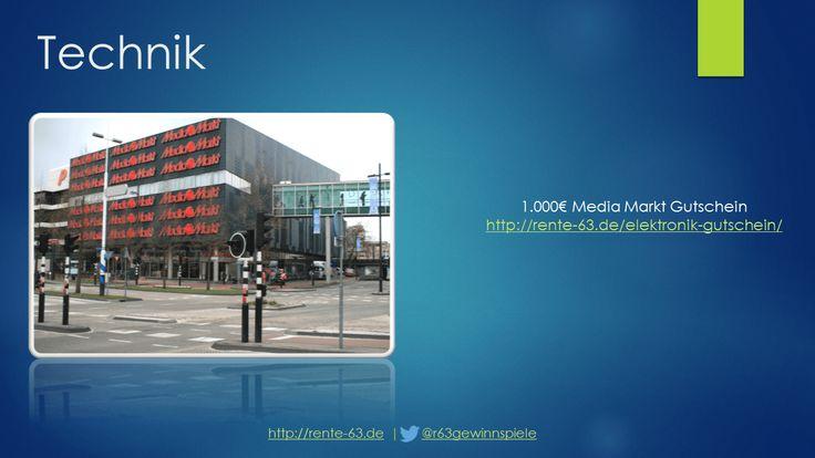 Media Markt Gewinnspiel http://rente-63.de/multimedia-gutschein/