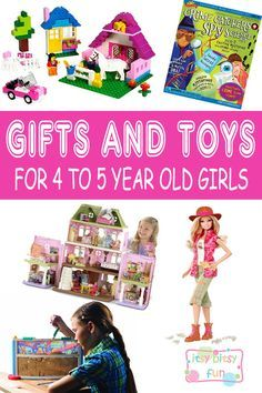 Best Gifts For 4 Year Old Girls. Lots of Ideas for 4th Birthday, Christmas and 4 to 5 Year Olds
