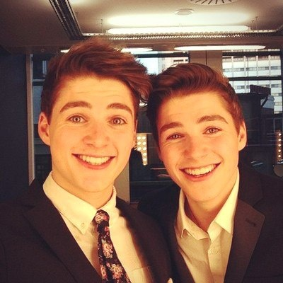 Jack & Finn Harries. Fin on the left and Jack on the right<3