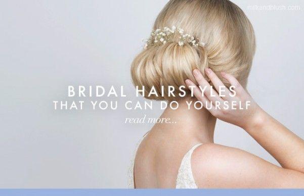 Wedding Hairstyle You Can Do Yourself Gaya Rambut Rambut