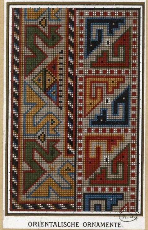 Gallery.ru / Фото #16 - старинные ковры и схемы для вышивки - SvetlanN