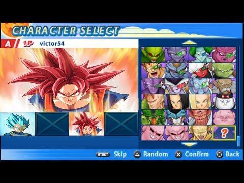 Goku Red God Vs Vegeta Blue Mega Fight | DBZ Tenkaichi Tag Team Super Mo...