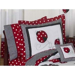 ladybug bedding