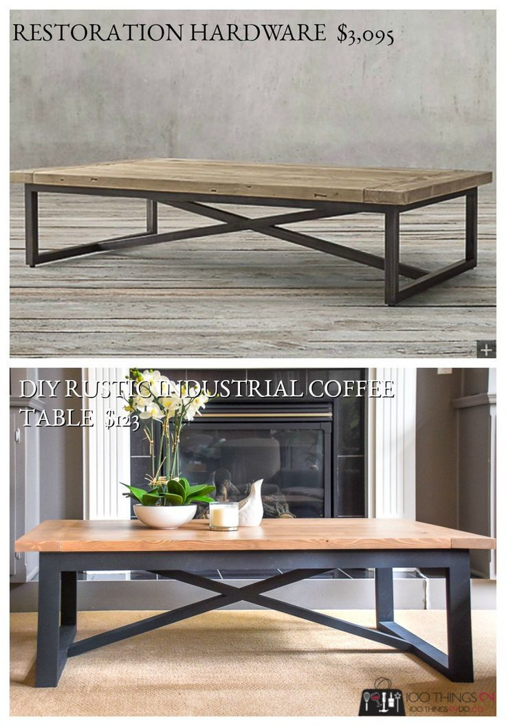 Rustic Industrial Side Table Rustic Industrial Coffee Table Rustic Furniture Industrial Side Table