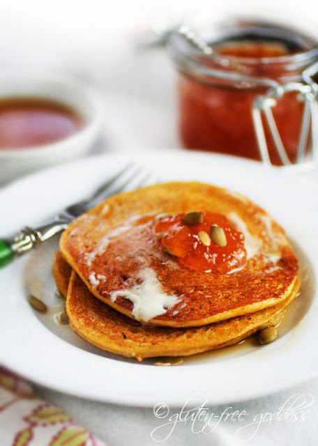 Gluten-Free Pumpkin Pancakes - Karina-s Kitchen- Recipes from a Gluten ...