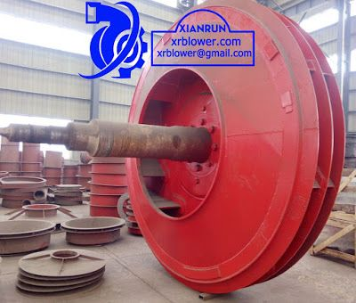 Xianrun Blower: Using the front wear resistant blade cascade or in...