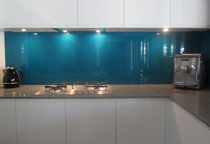 Metaline backsplash