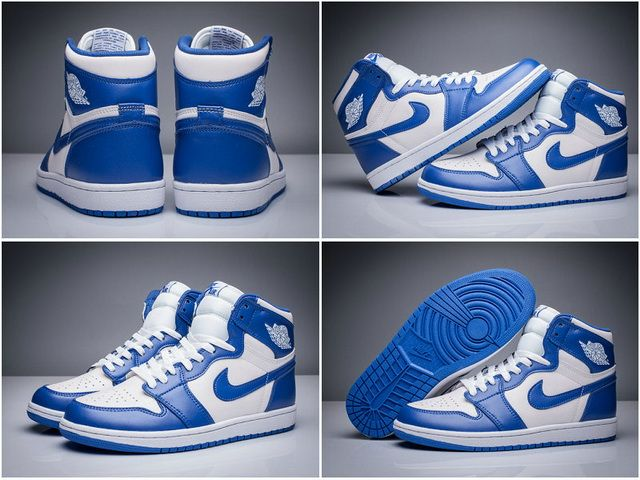 c257b44f5601 Low Price Air Jordan 1 Retro High For Men Storm Blue Size 9 10.5 2018  Basketball Shoes For Sale