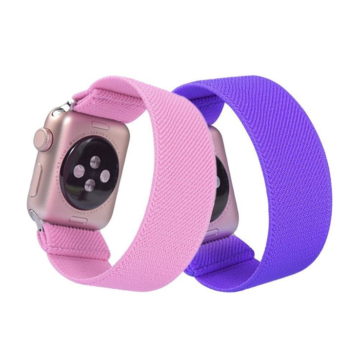 Scrunchie Solid Strap For Apple watch band 18.77 Watch