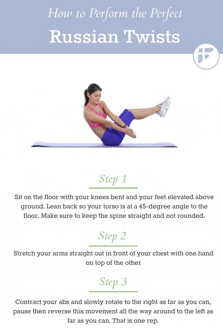 Russian Twist Exercise Guide. #abexercise
