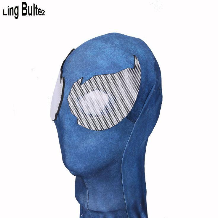 >> Click to Buy << Ling Bultez High Quality Newest Venom Mask Black Spiderman Mask Venom Spiderman Face Mask With Lens #Affiliate