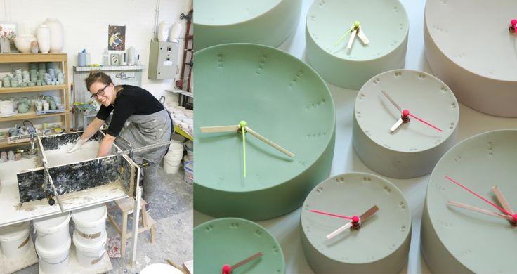 Collezione 'Clock' di Femke Roefs