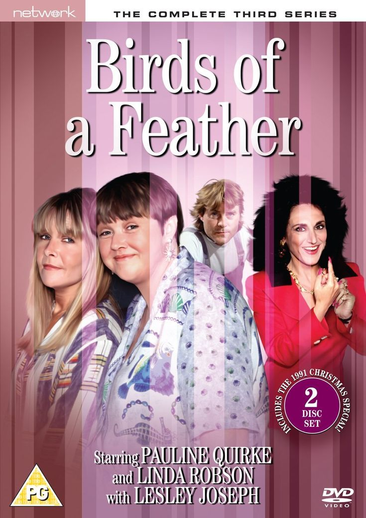 Birds of a Feather is a British sitcom originally broadcast on BBC One from 1989 to 1998, then revived on ITV in 2014. Starring Pauline Quirke, Linda Robson, and Lesley Joseph, it was created by Laurence Marks and Maurice Gran, who also wrote some of the episodes along with many other writers.  The first episode sees sisters Tracey Stubbs (Linda Robson) and Sharon Theodopolopodos (Pauline Quirke) brought together when their husbands are sent to prison for armed robbery. Sharon,