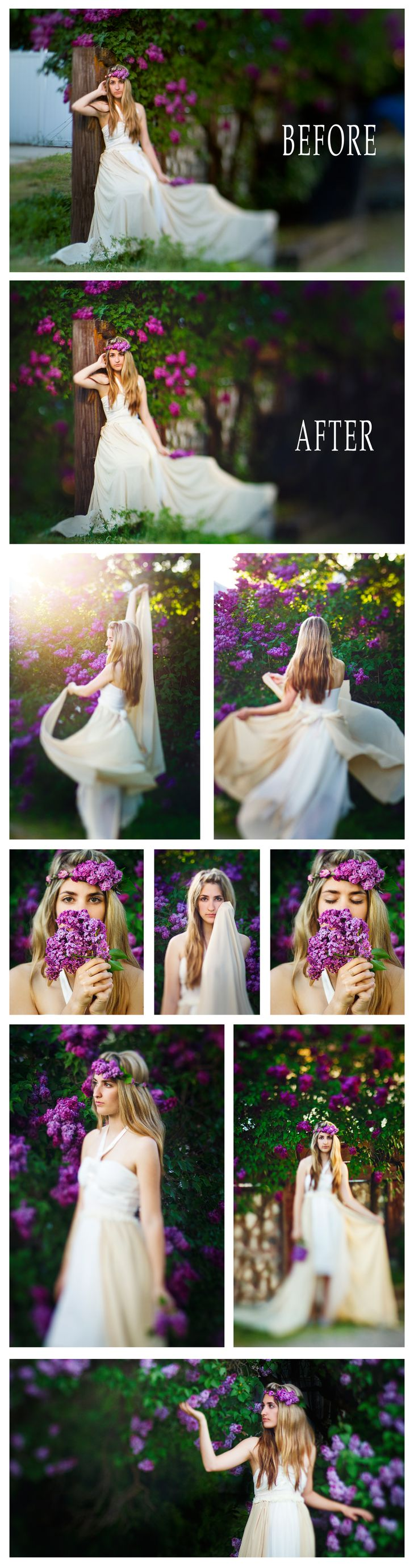 Lilac Princess photoshoot pixel perfect photography
