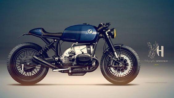 BMW R65 Cafe Racer, caferacergram: @caferacergram by CAFE RACER...