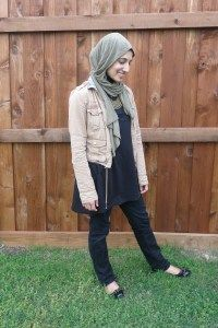Hijab Fashion street style