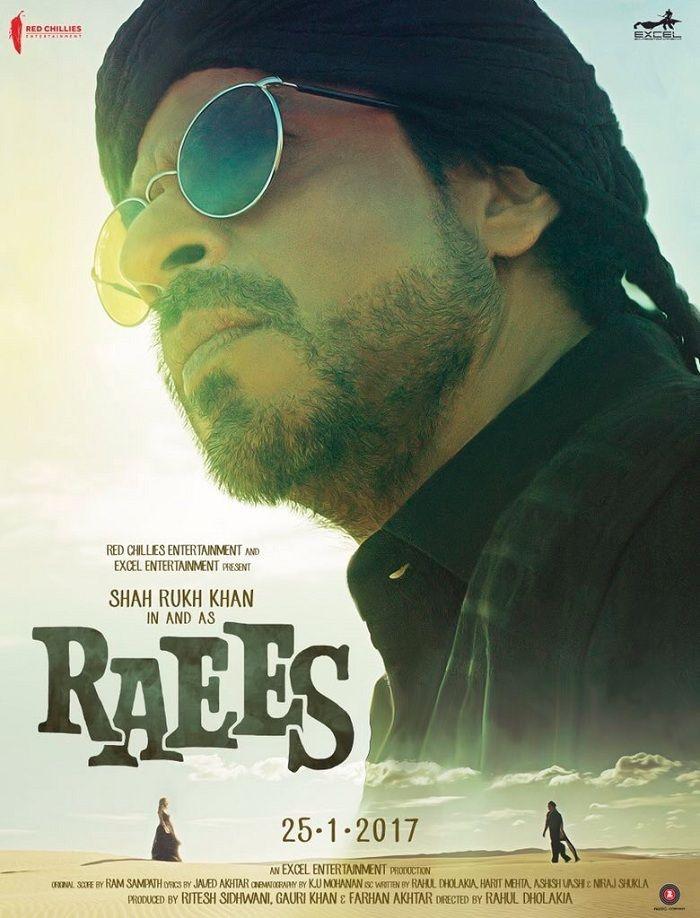 Raees New Poster - Shahrukh Khan