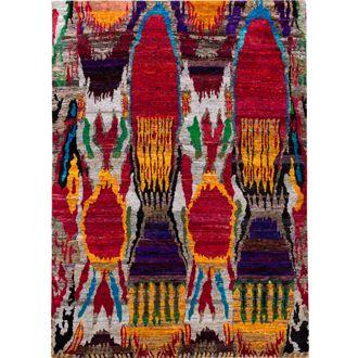 Sari zijde Multicolour tapijt | MARCJANSSEN