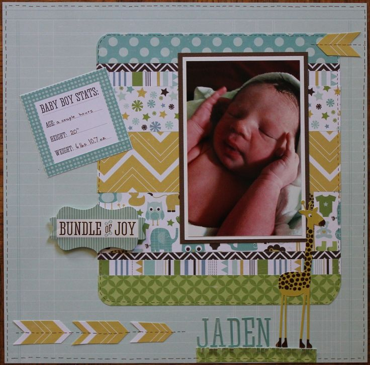 Paper Kit by: @echoparkpaper  - Bundle of Joy