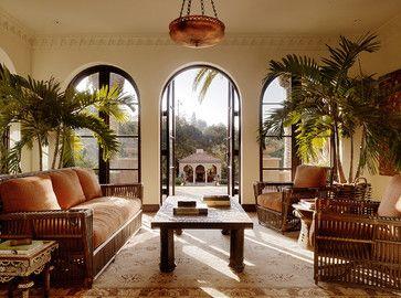 Mediterranean Living Room by San Francisco Architects & Designers Charlie Barnett Associates