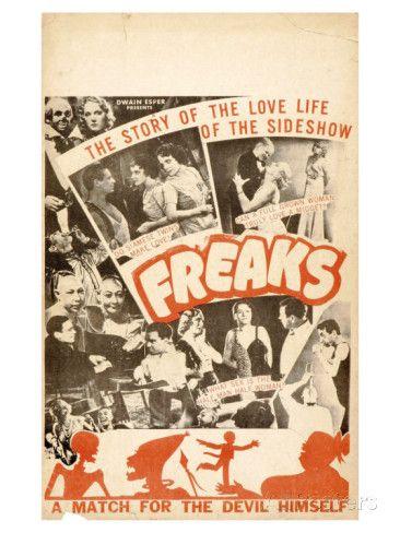 Freaks, 1932 Prints at AllPosters.com
