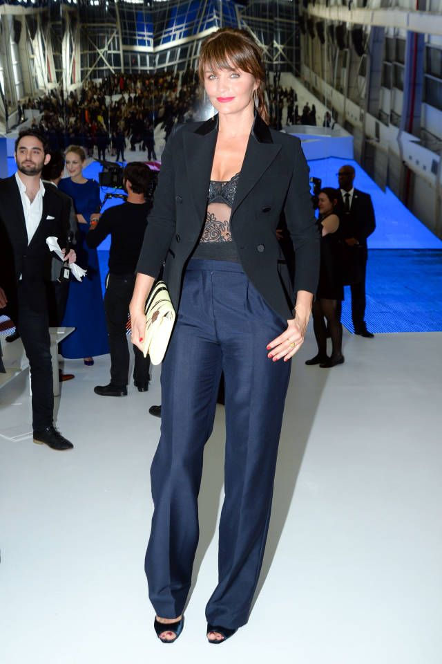 The best celebrity style from Dior's front row.